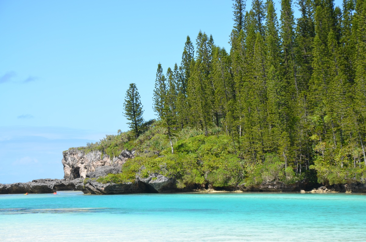 An Isle of Pines in 50 shades ofblue